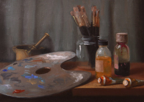 Studio still-life