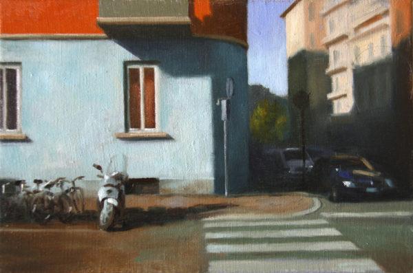 A street corner<br>€ 650