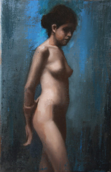 Standing nude, the dancer<br>Sold