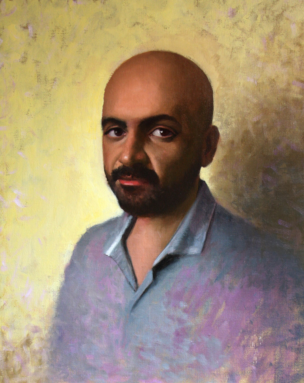 Portrait of Mr. Al Rashoudi