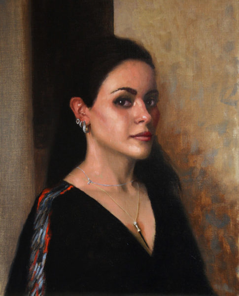 Portrait of Mrs. Al Rashoudi