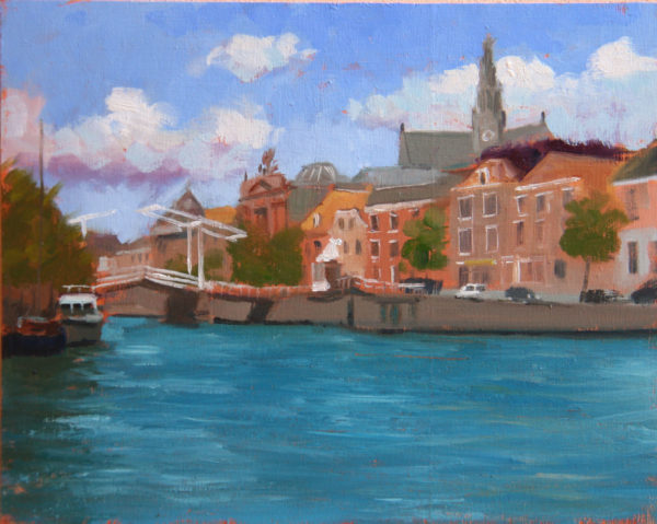 View across the Spaarne, Haarlem