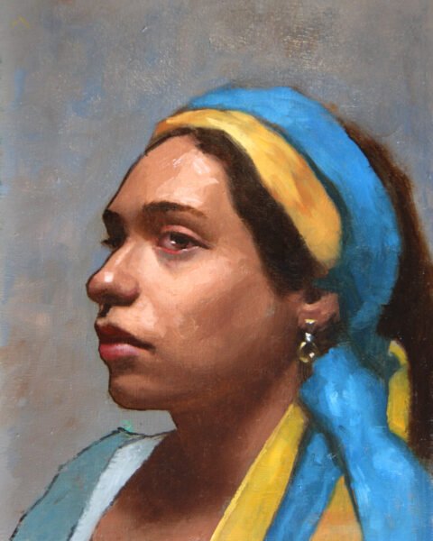 Study of an actress